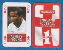 England Ashley Young Aston Villa 2D